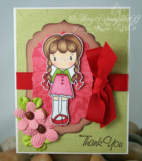 CCD Swiss Miss Rosalie TY Card by AmyR