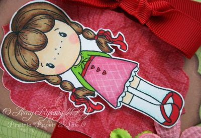 CCD Swiss Miss Rosalie TY Card Closeup by AmyR
