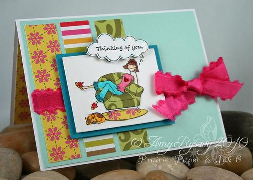Bella Thinking of You Card by AmyR