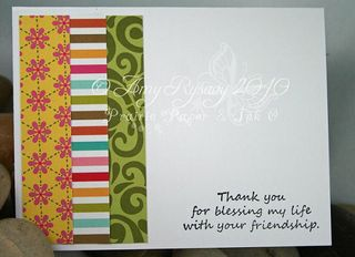 Bella Thinking of You Card Inside by AmyR