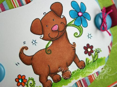 WRS Puppy Card Closeup by AmyR