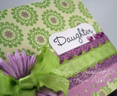 AmyR All Women Card 1 Daughter Closeup by AmyR