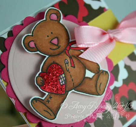 CC Cute Critters Valentine Trio Card 2 Closeup by AmyR