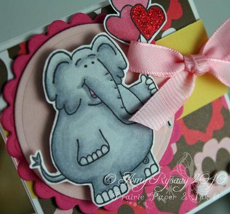 CC Cute Critters Valentine Trio Card 3 Closeup by AmyR