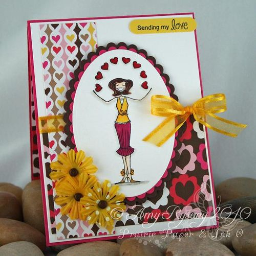 Sending my Love Bella Card by AmyR