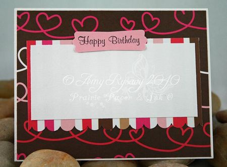 Bella Hey Cupcake Bella Card Inside by AmyR