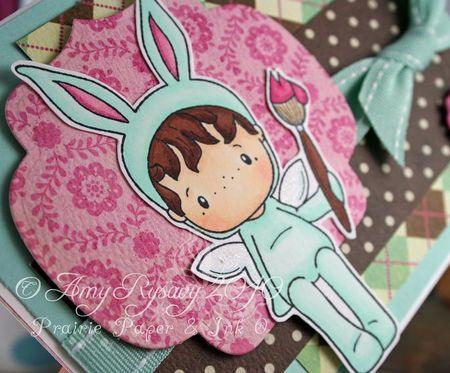 CCD Bunny Hansel Card Closeup by AmyR