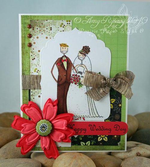 Bella Wedding Card by AmyR