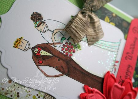 Bella Wedding Card Closeup by AmyR