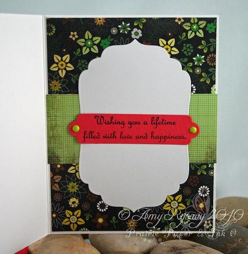 Bella Wedding Card Inside by AmyR