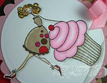 Bella Hey Cupcake Bella Card Closeup by AmyR
