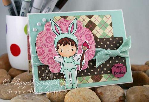 CCD Bunny Hansel Card by AmyR
