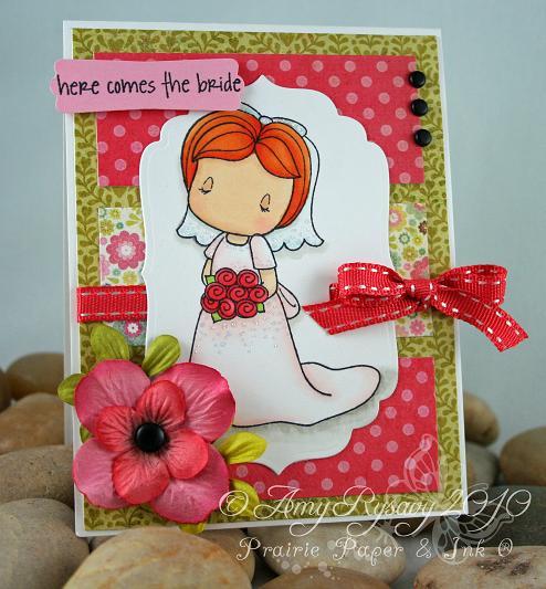 CCD Bride Emma Card by AmyR