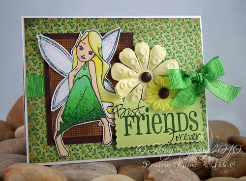 SN Coriander Fairy BFF Card by AmyR