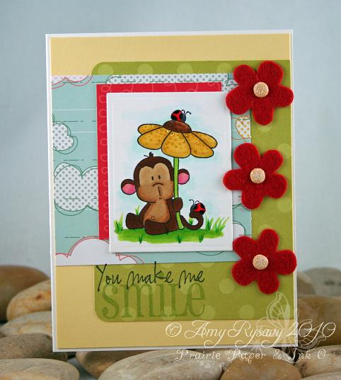 CCD Flower Power Smile Card by AmyR