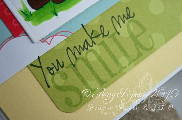 CCD Flower Power Smile Card Closeup 2 by AmyR