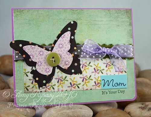 All Women Bfly Mom MD Card by AmyR