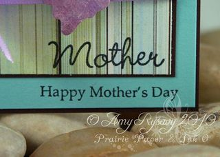 All Women Mother MD Butterfly Card Closeup by AmyR