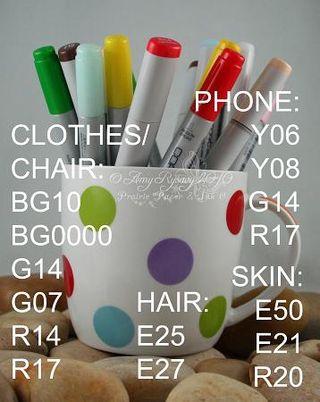 Gossipabella Colored Image Copics