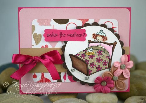 Bella Under the Weather Card by AmyR