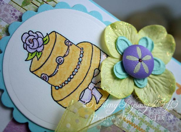 CC Special Day Cake Card Closeup by AmyR