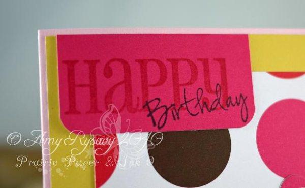 Happy Birthday Bella Card Closeup 2 by AmyR