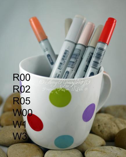 BG Cup of Tea Card Copics by AmyR