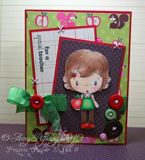 CCD Honey Teacher Card by AmyR