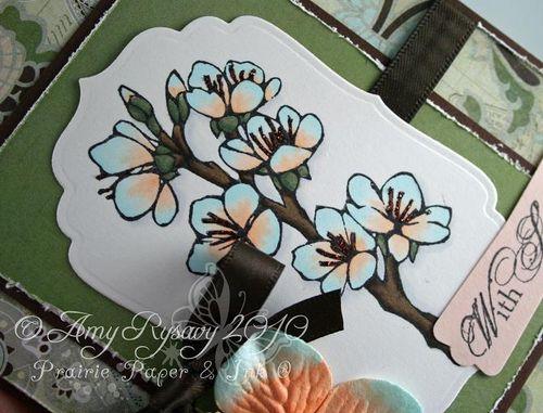 AmyR Sympathy Card Set Card 1 Closeup by AmyR