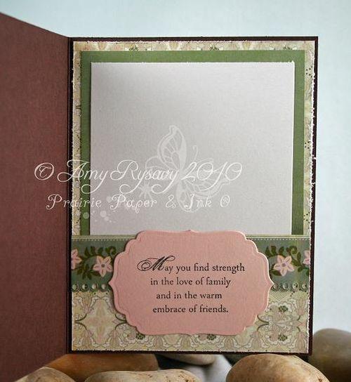 AmyR Sympathy Card Set Card 1 Inside by AmyR