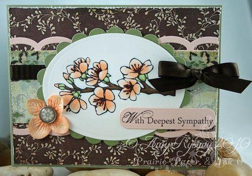 AmyR Sympathy Card Set Card 2 by AmyR