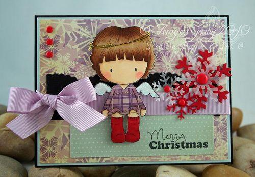 CCD Sugarplums Angel MC Card by AmyR