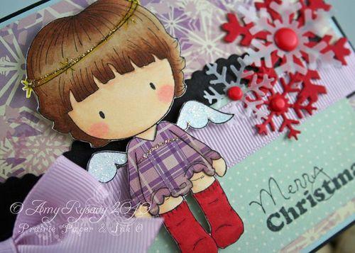 CCD Sugarplums Angel MC Card Closeup by AmyR