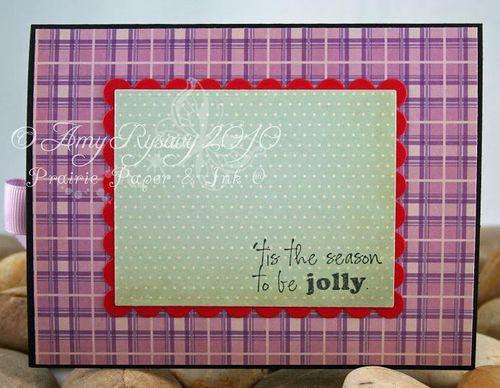 CCD Sugarplums Angel MC Card Inside by AmyR