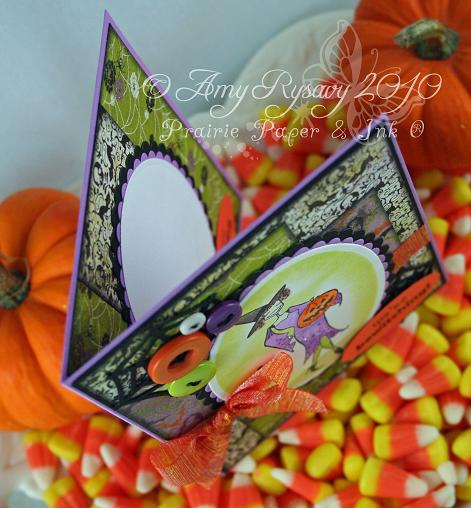 Bella Witchybella Card Top View by AmyR