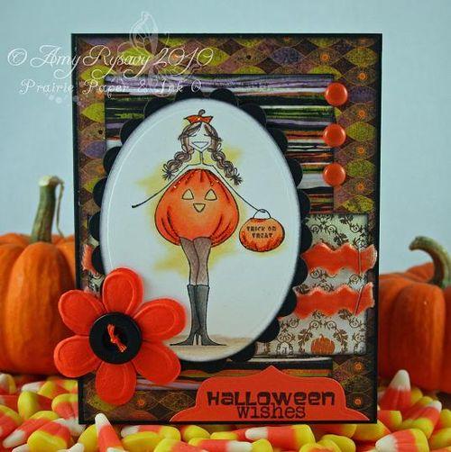 Bella TorTabella Hween Wishes Card by AmyR