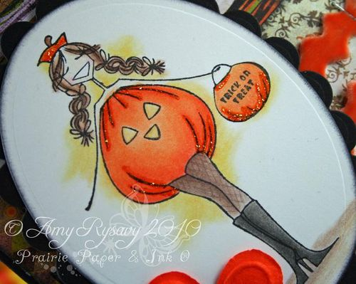 Bella TorTabella Hween Wishes Card Closeup by AmyR