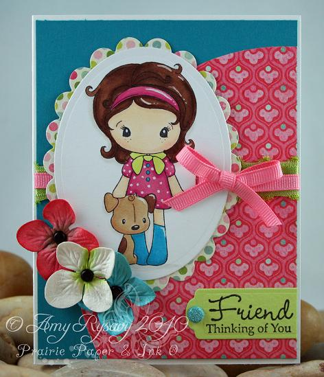 Kiki La Rue Puppy Card by AmyR