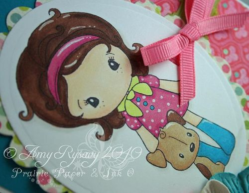 Kiki La Rue Puppy Card Closeup by AmyR