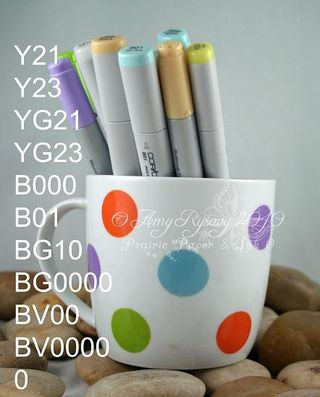 CC Special Day Cake Card Copics by AmyR
