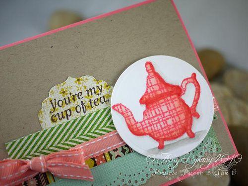 BG Cup of Tea Card Closeup by AmyR