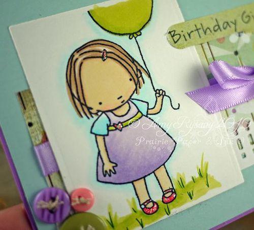 MFT PI My Balloon Card Closeup by AmyR