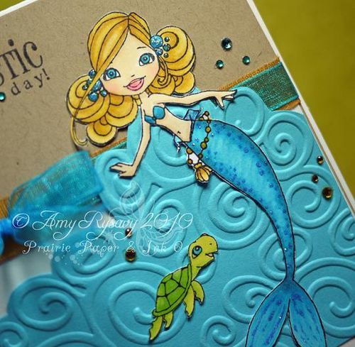 CCD SN Pearl Tidepool Fintastic Card Closeup by AmyR
