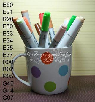 CCD Honey Teacher Card Copics by AmyR