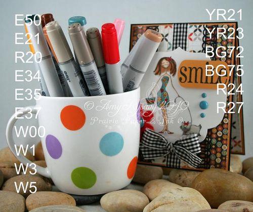 Bella BG M&W Card 4 puppybella card copics by AmyR