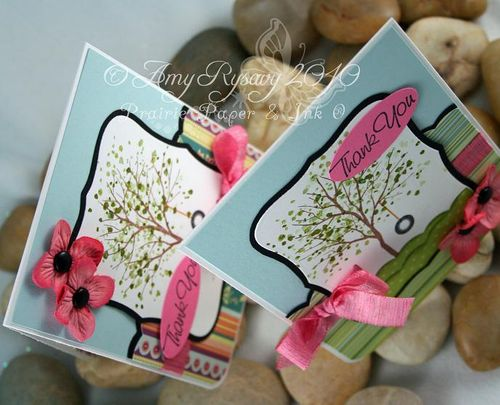 SU Branch Out TY Card Top View by AmyR