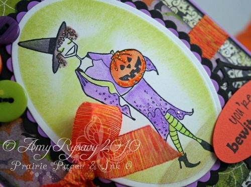 Bella Witchybella Card Closeup by AmyR