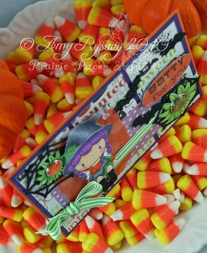 CCD SP Hween Birgitta Batty4U Card Top View by AmyR