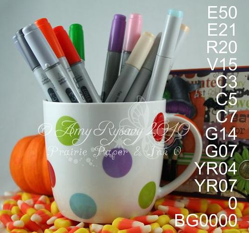 CCD SP Hween Birgitta Batty4U Card Copics by AmyR