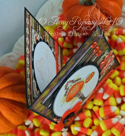 Bella TorTabella Hween Wishes Card Top View by AmyR